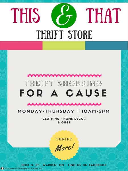 This & That Thrift Store - Warren, Minnesota