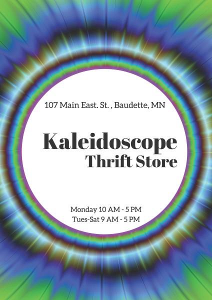 kaleidoscope Thrift Store - Baudette, Minnesota