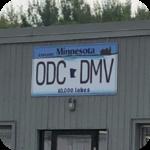 Hibbing DMV exterior signage
