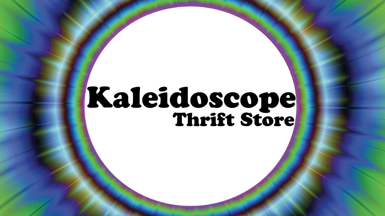 Kaleidoscope thrift store logo