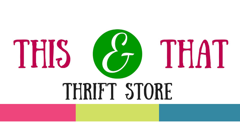 This and That thrift store logo