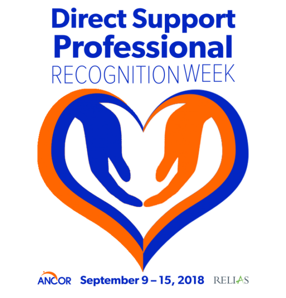 Direct Support Professional Recognition Week Sept. 9-15, 2018